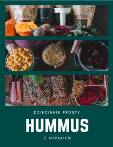 hummus z buraka przepis