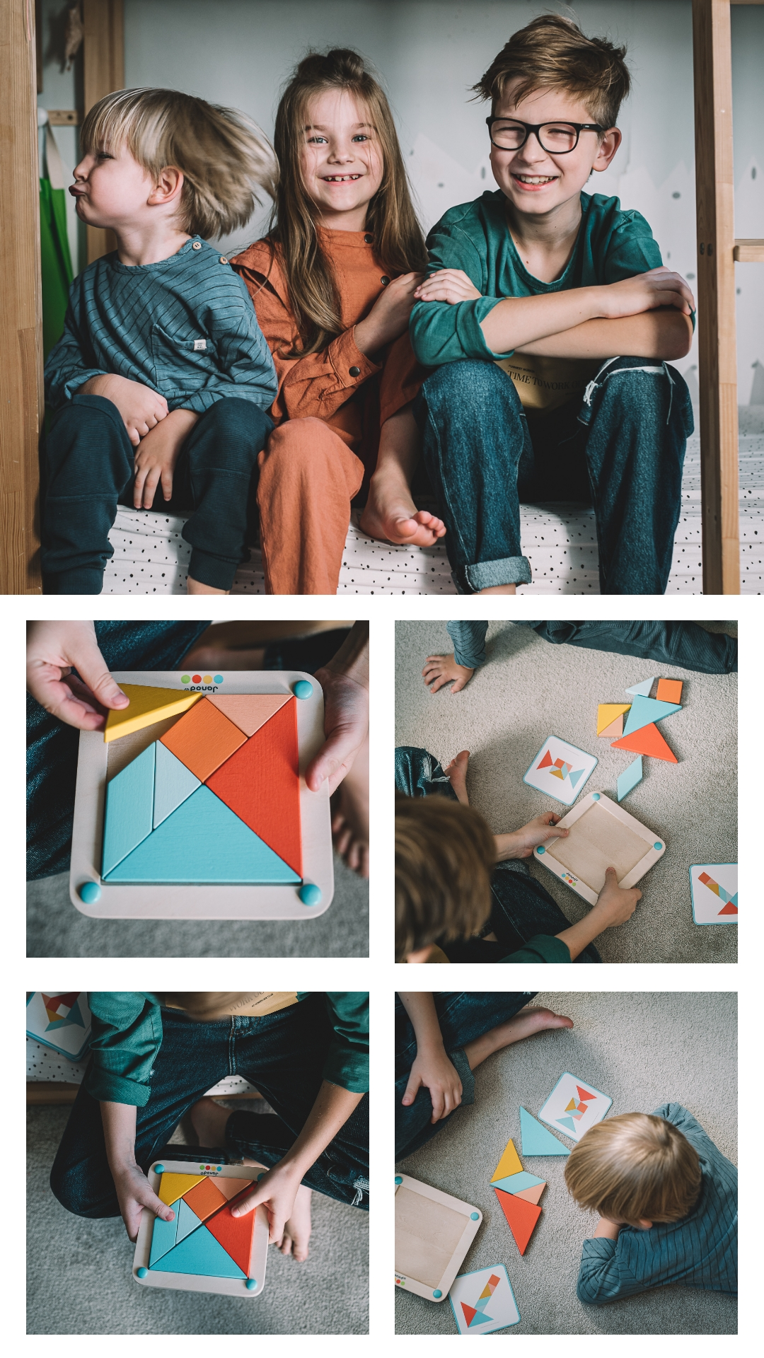 Gra tangram