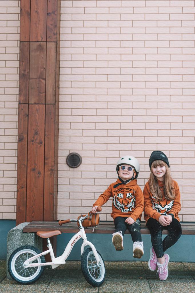 rowerek biegowy janod bikloon vintage