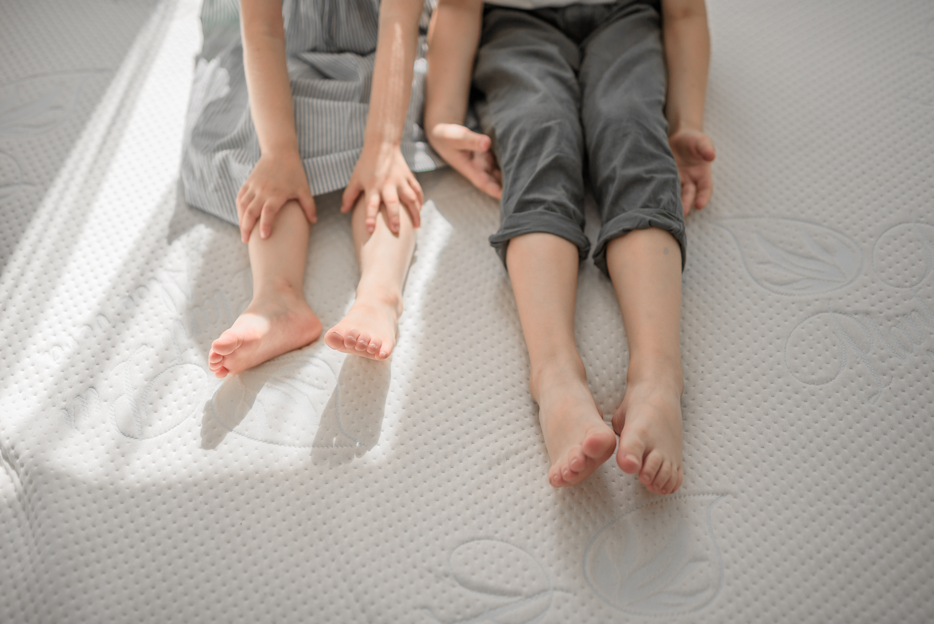 spanie z dzieckiem
