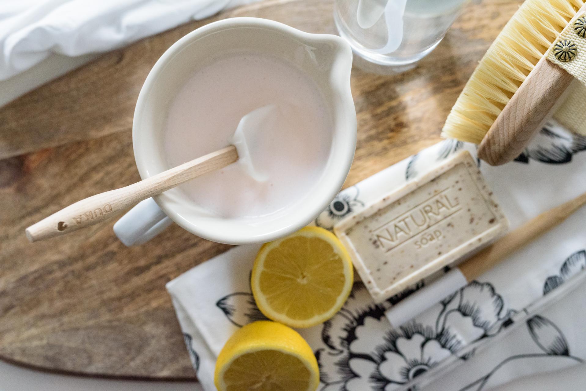 zrób sam mleczko do czyszczenia z sody, ekosprzątanie