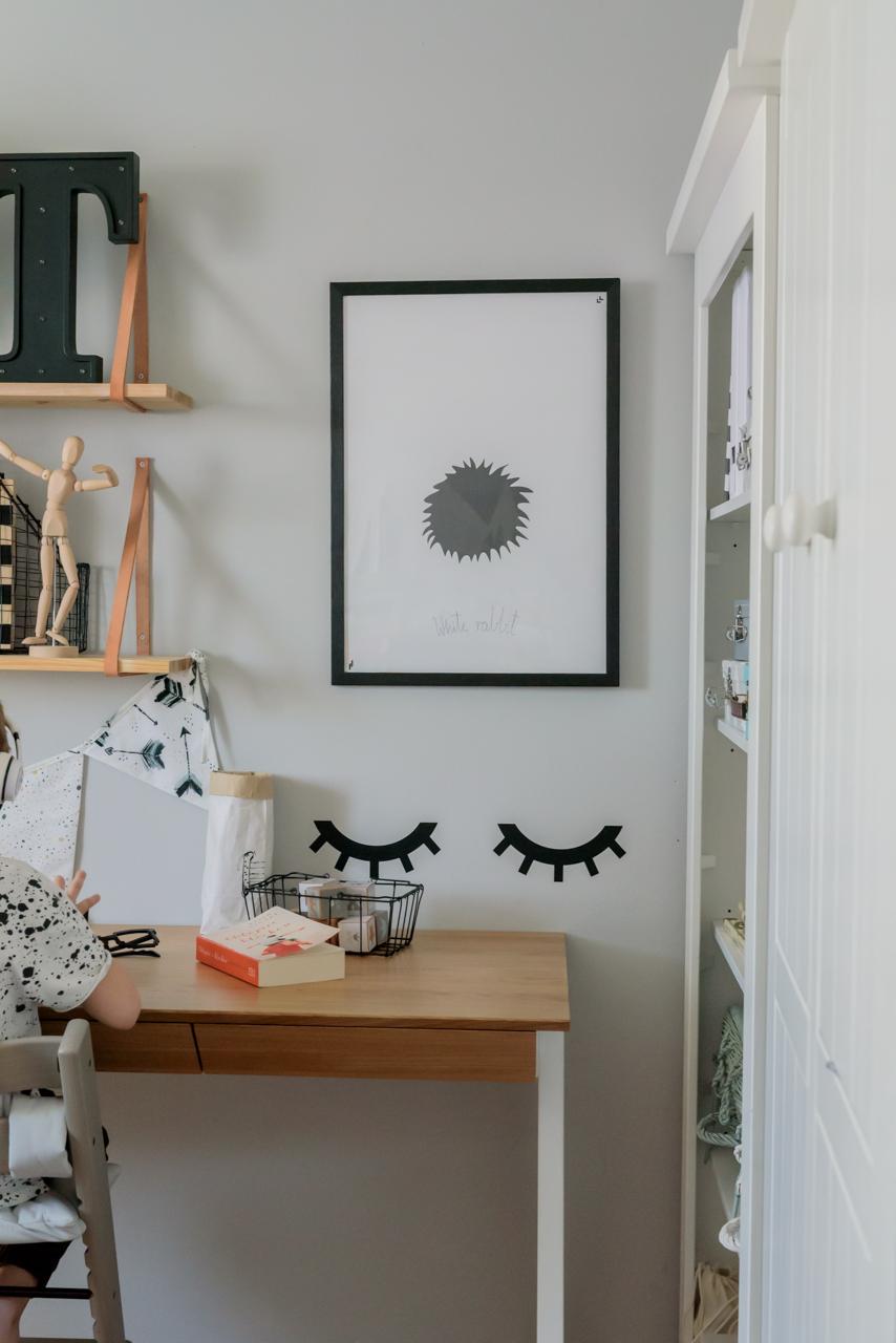 biurko borcas, postawa dziecka przy biurku