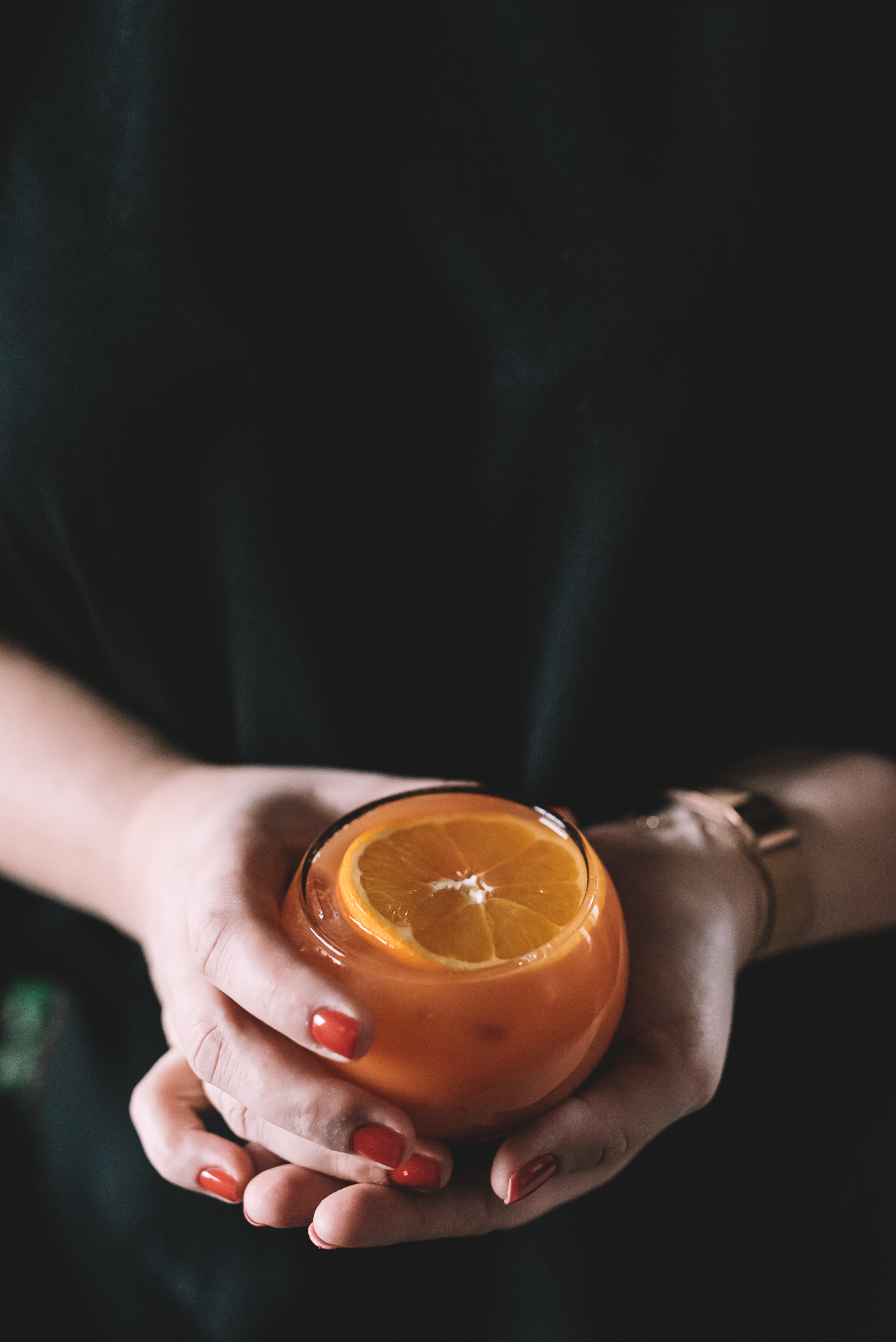 sok z pomarańczy świeżo wyciskany