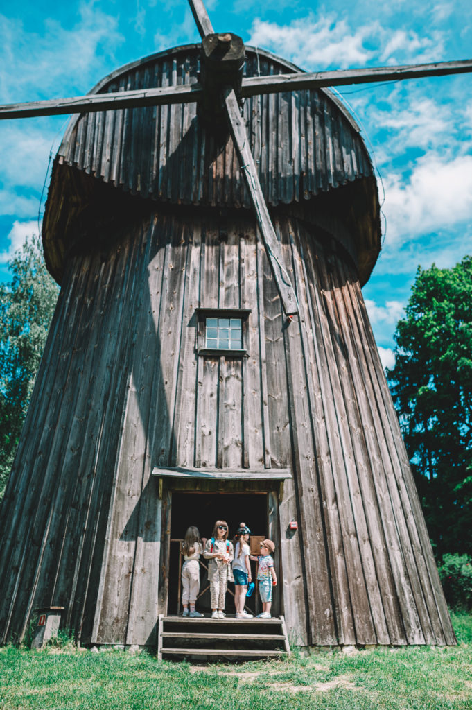 wiatrak w muzeum wsi lubelskiej