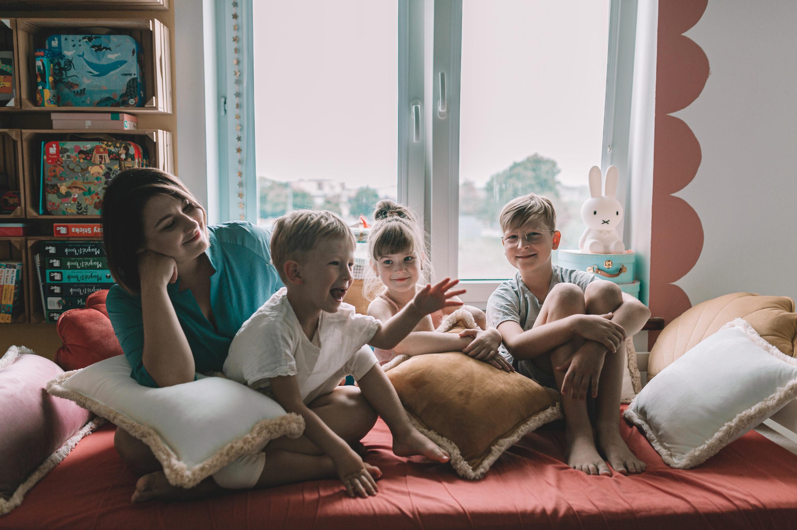 Pokój dla trójki rodzeństwa