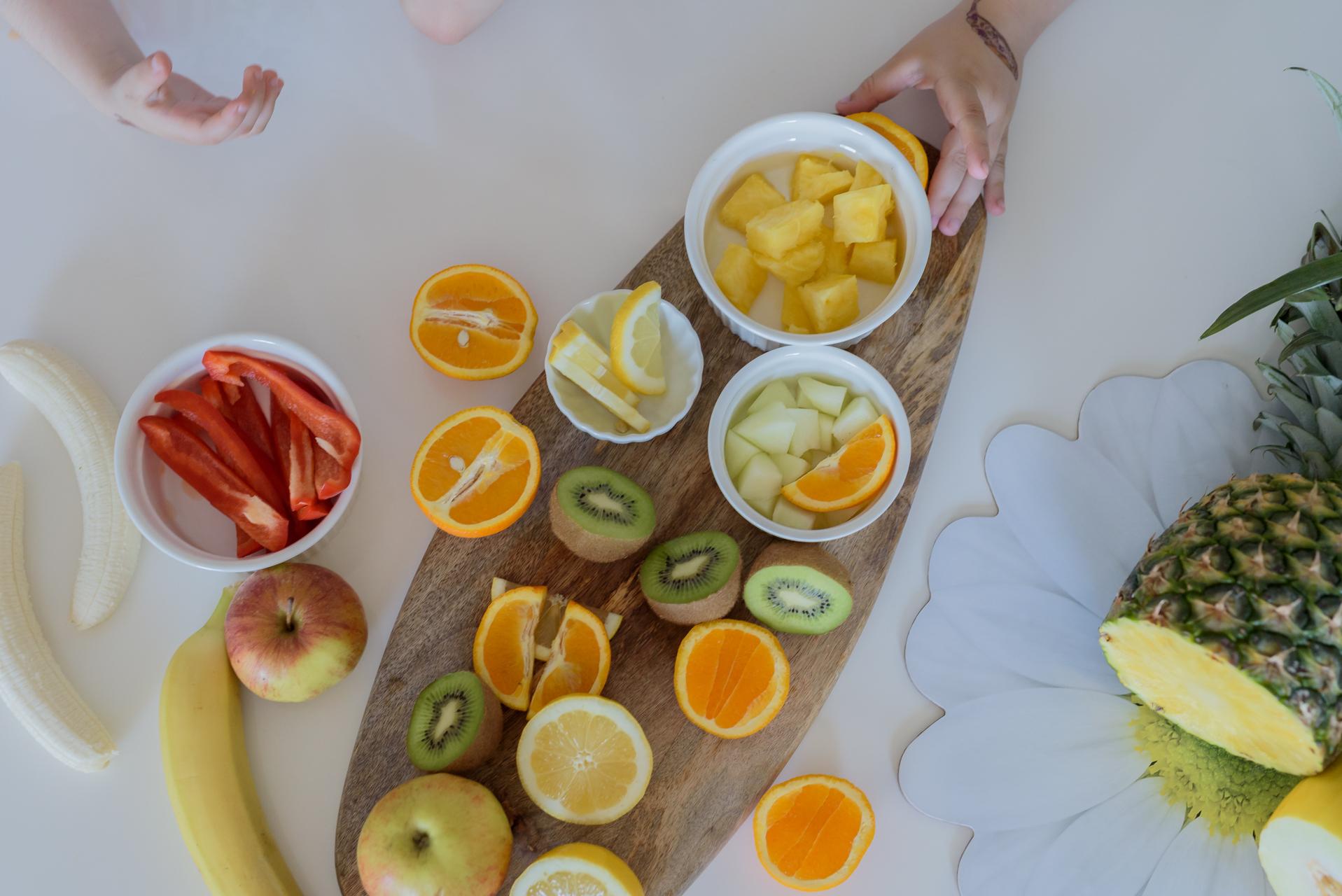 Czym zastąpić słodycze? owoce i warzywa