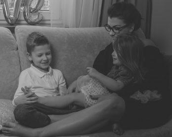 Zaangażuj się mocno w relacje z dzieckiem. Ono Ci pięknie to wynagrodzi.