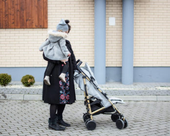 Stockholm Stroller Golden Grey od Elodie Details – recenzja wózka