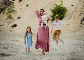 Matka trójki dzieci